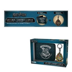 Pack cartera y llavero Hogwarts, Harry Potter