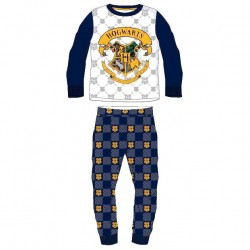 Pijama Harry Potter Infantil Azul