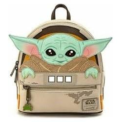 Mini Mochila Baby Yoda, Loungefly