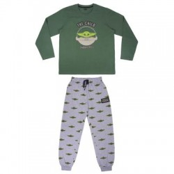 Pijama Baby Yoda, The Mandalorian, Talla Adulto