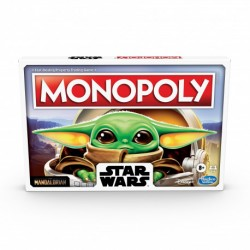 Monopoly The Mandalorian, Star Wars, Edición Castellano