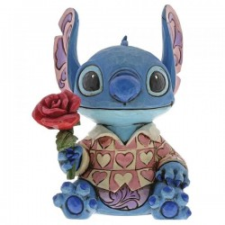 Figura de Stitch San Valentín, Lilo y Stitch, Disney Traditions by Jim Shore