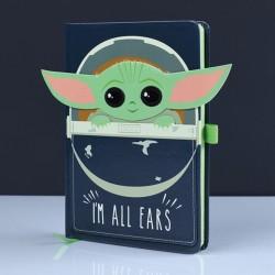 Libreta Baby Yoda The Mandalorian