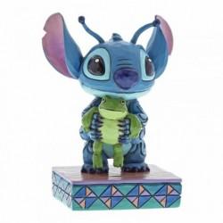 Figura Stitch y Rana, Lilo y Stitch, Disney Traditions by Jim Shore