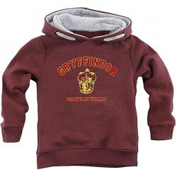 Sudadera Gryffindor ''Brave at Heart'' Harry Potter, Infantil