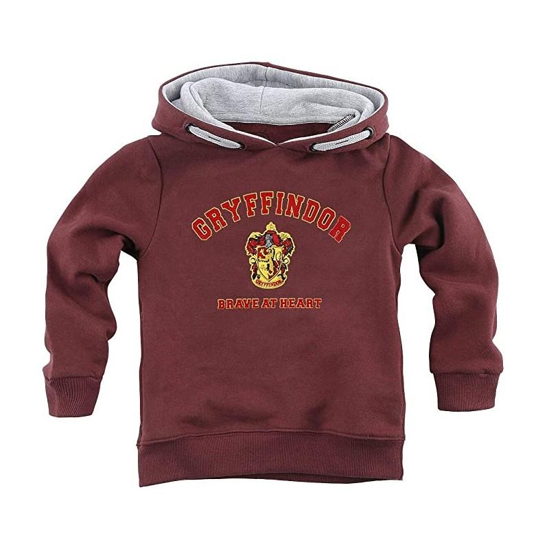 Sudadera Gryffindor ''Brave at Heart'' Harry Potter, Infantil