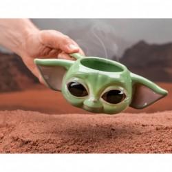Taza 3D Baby Yoda, Mandalorian