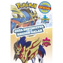Libro Pokémon, guía definitiva de la región Galar