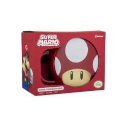 Taza Seta 3D Súper Mario Nintendo