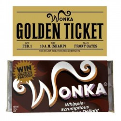 Tableta Chocolate Wonka,...