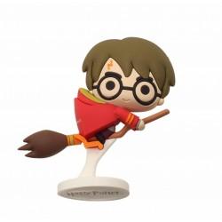 Mini figura goma Harry Quidditch, Harry Potter