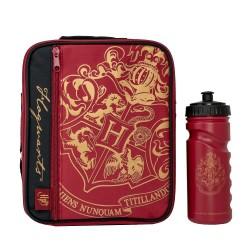 Bolsa Porta Alimentos y Botella Hogwarts