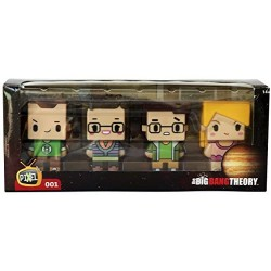 Big Bang Theory, 4 figuras, Pixel 001
