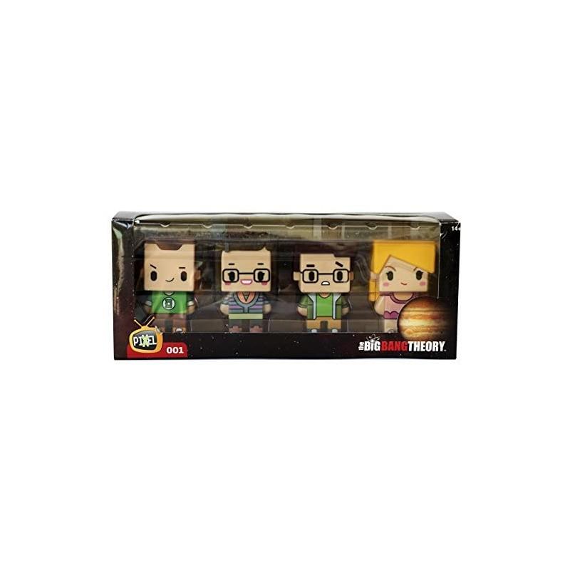 Big Bang Theory, 4 figuras, Pixel 001