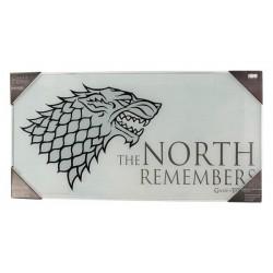 Póster vidrio The North Remembers, Juego de Tronos