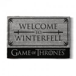 """Felpudo """"Welcome to Winterfell"""" Juego de Tronos"""