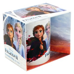 Taza Anna y Elsa, Frozen, Disney