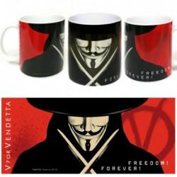 Taza V de Vendetta cerámica...