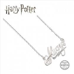 Collar Always Harry Potter, con cristales Swarovski