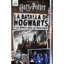 Libro La Batalla de Hogwarts + Varita de Sauco, Harry Potter