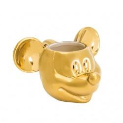 Taza Mickey 3D dorada...