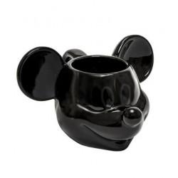 Taza Mickey Mouse 3D Negro