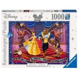 Puzzle Bella y Bestia, Disney 1000 pcz