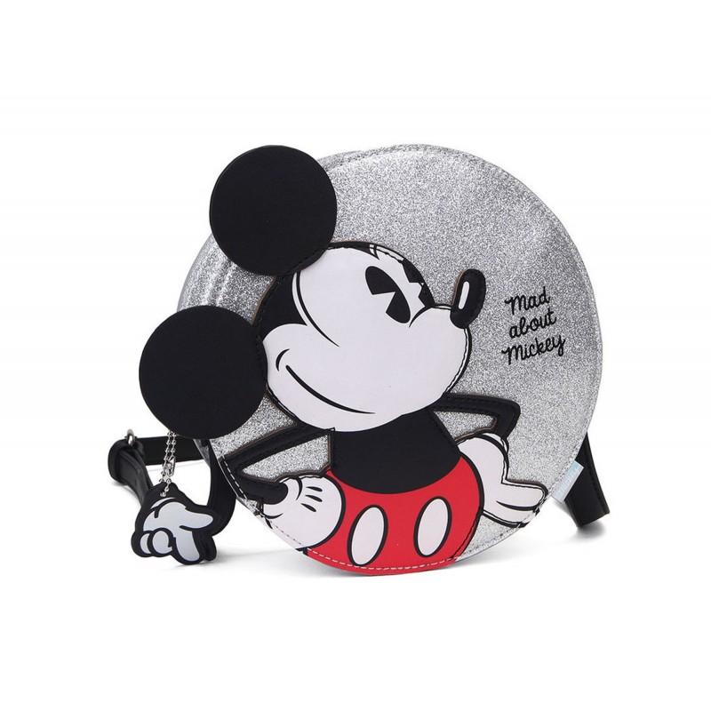"""Bolso Bandolera """"Mad About Mickey'', Disney"""
