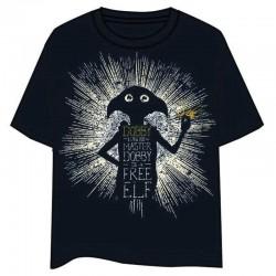 Camiseta Dobby Free Elf,...