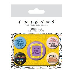 Pack Chapas Friends