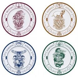 Set de 4 platos Harry...