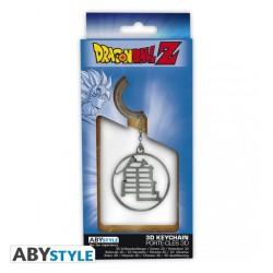 Llavero símbolo Kame metálico Dragon Ball