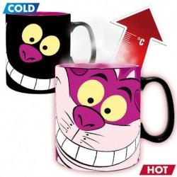 Taza térmica gato Cheshire