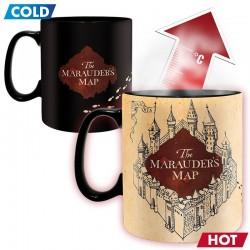 Taza térmica Mapa del Merodeador, Harry Potter