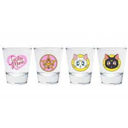 Vasos chupito iconos Sailor Moon