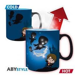 Taza térmica Patronus Chibi Harry Potter