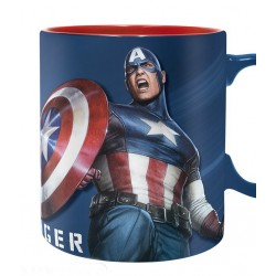 Taza Capitán América 460ml Marvel