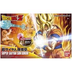 Kit montable figura Super Saiyan Goku, Dragon Ball Z, 16cm