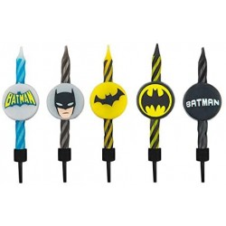 Set de 10 velas Batman