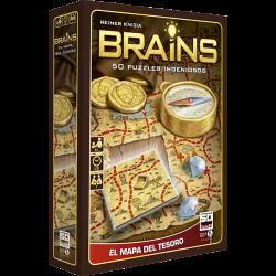 Brains el mapa del tesoro, 50 puzles ingeniosos
