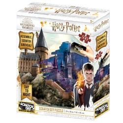 Puzzle para rascar Hogwarts día y noche, Harry Potter