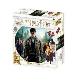 Puzzle lenticular Hermione, Ron y Harry Potter