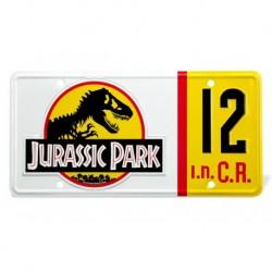 Réplica matrícula Jurassic Park Denis Nedry