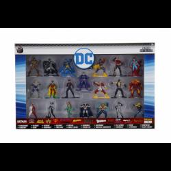Set 20 figuras metal DC Cómics, 4 cm