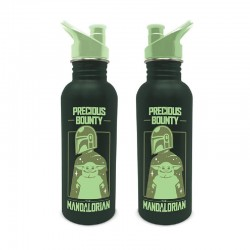 Botella aluminio Baby Yoda, The Mandalorian
