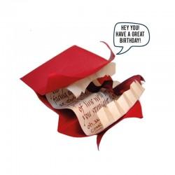 Réplica carta vociferadora, Harry Potter, con sonido personalizable
