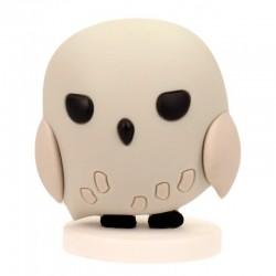 Mini figura goma Hedwig, Harry Potter