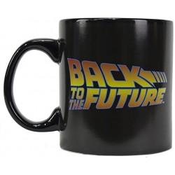 Taza logo Back to the Future, Regreso al Futuro