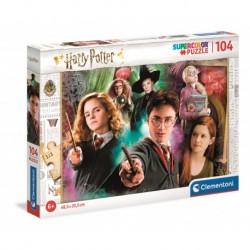 Puzzle Harry Potter, 104 piezas
