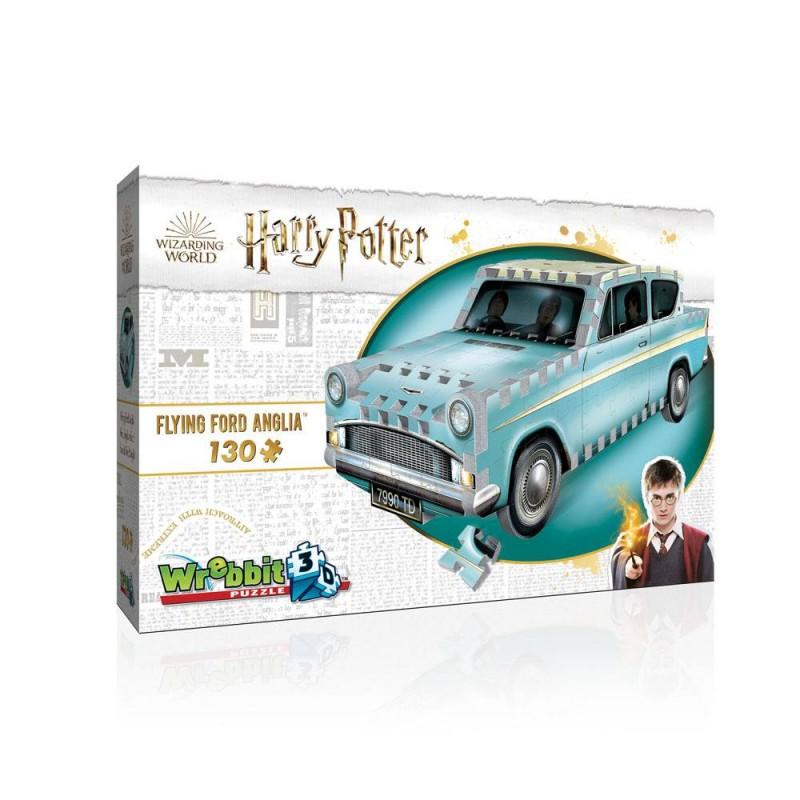 Puzzle 3D Harry Potter, Ford Anglia 130 piezas